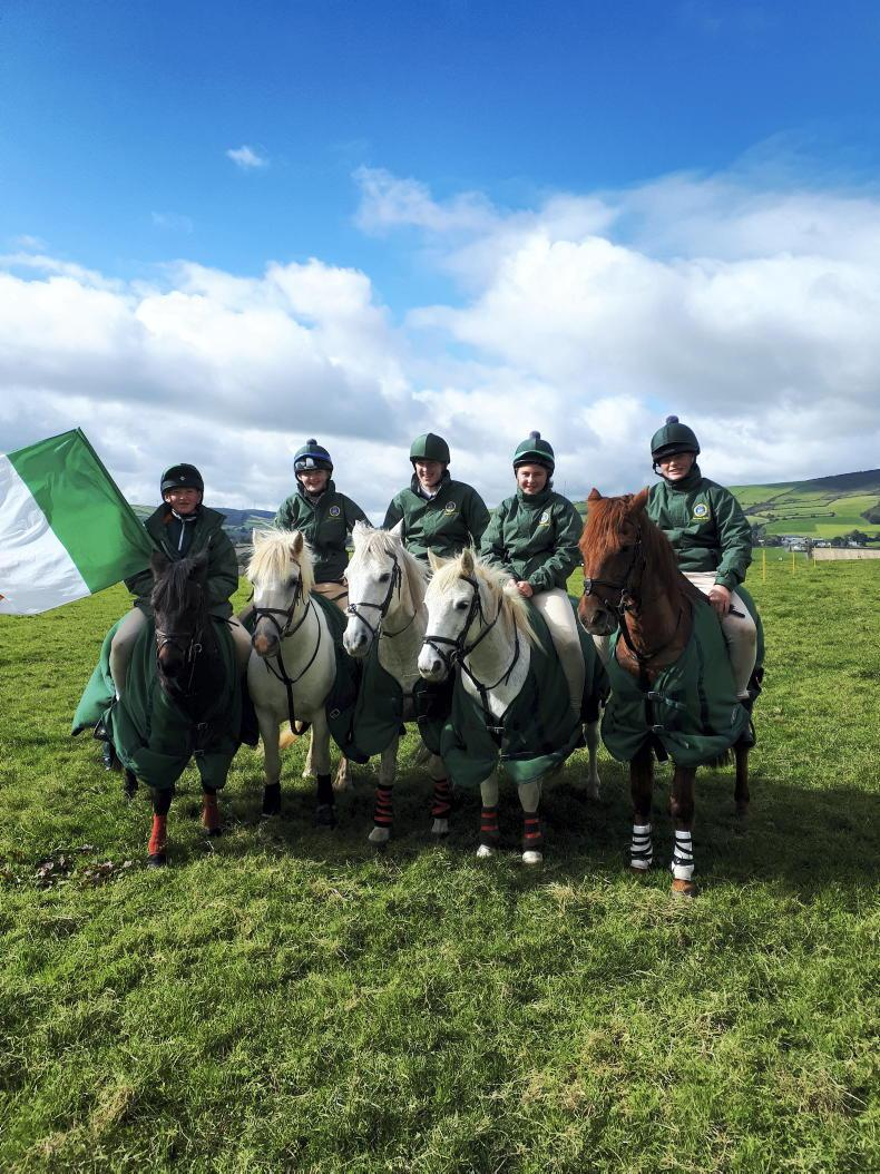 IRISH PONY CLUB: Tinahely victory secured by Royal Bath and West team