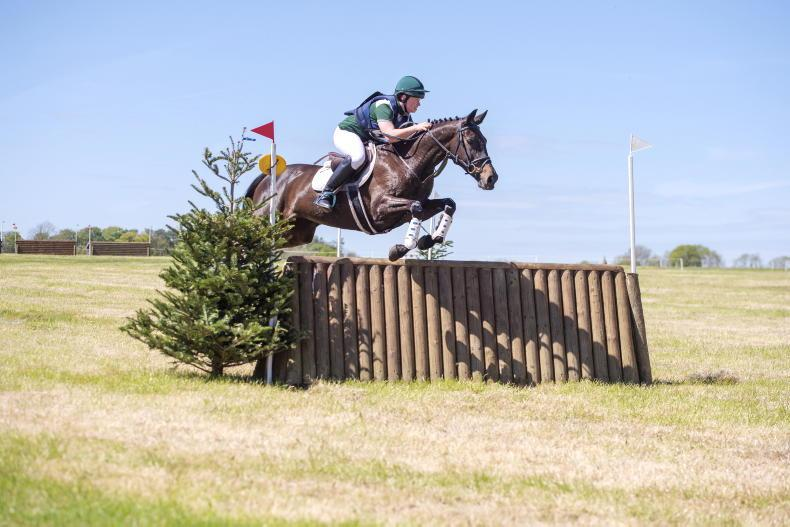 EVENTING: First win of season for Byrne