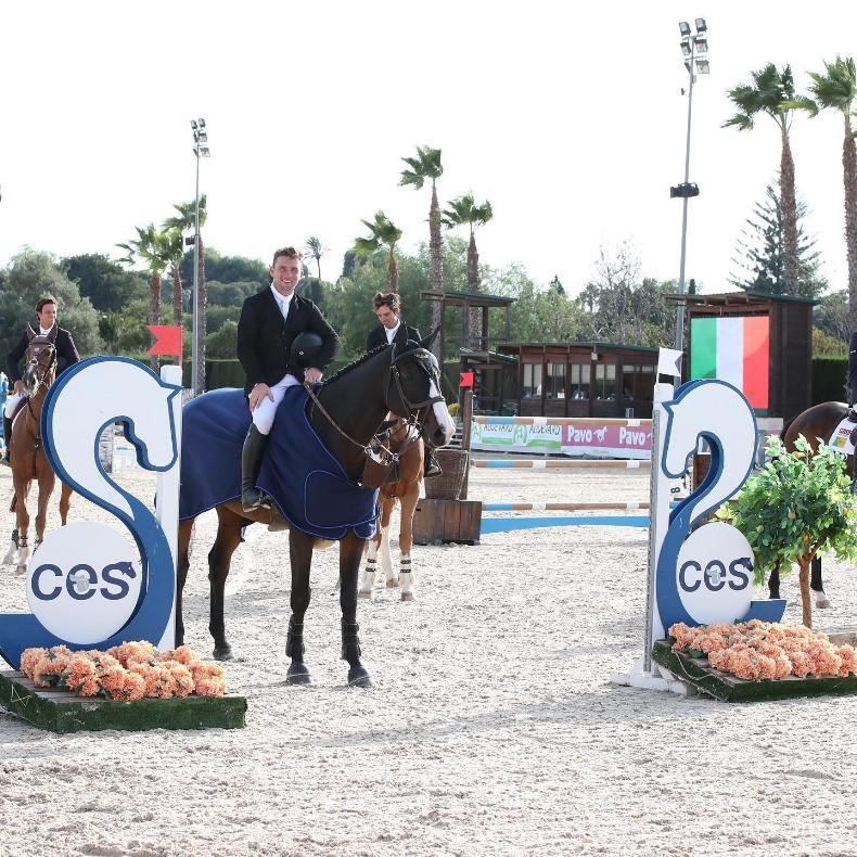 SHOW JUMPING: Howley dominates Spanish Grand Prix