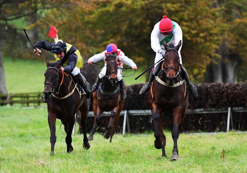 LOUGHANMORE SATURDAY: Cosy win for Miss Us O