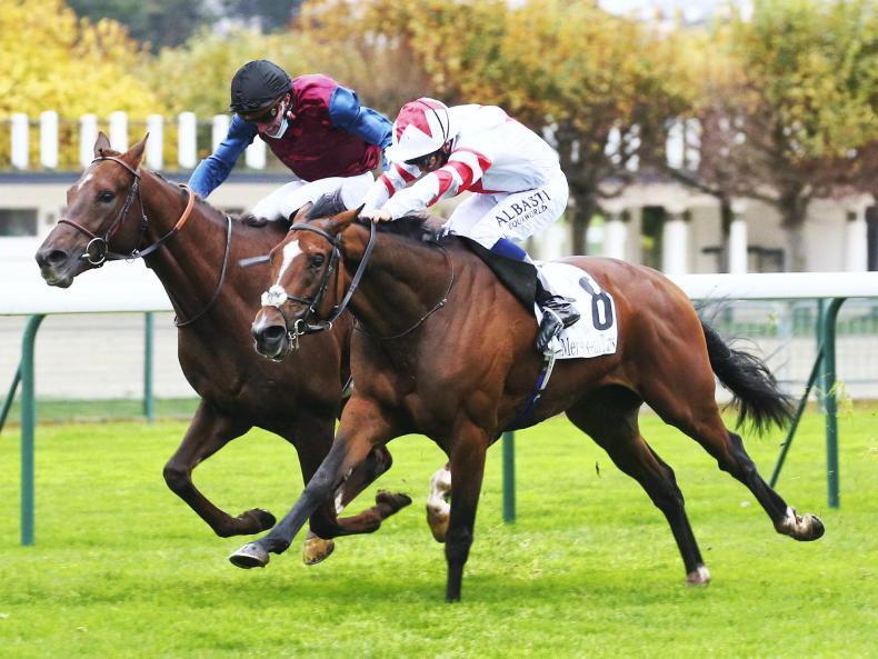 FRANCE: Baron makes giant strides