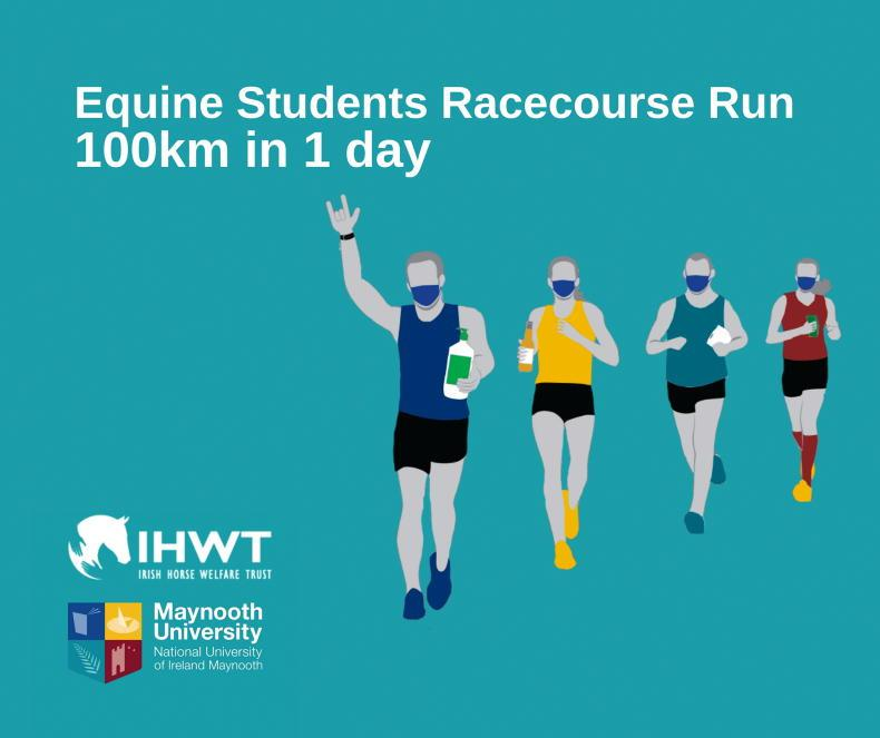 PARROT MOUTH: Students hit the track for IHWT