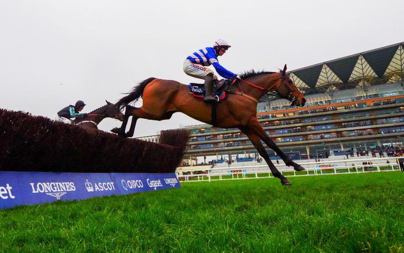 Presenting Percy takes Ladbrokes Champion Chase test