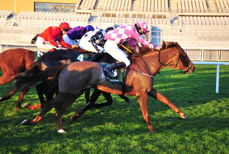 CURRAGH FRIDAY: Special moment for O'Connells as Cillian secures first win