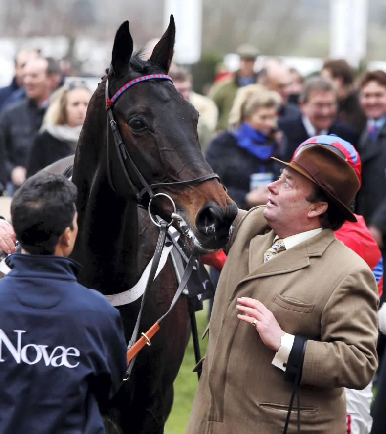 TALKING TRAINER: Nicky Henderson - Sprinter team give bullish sounds