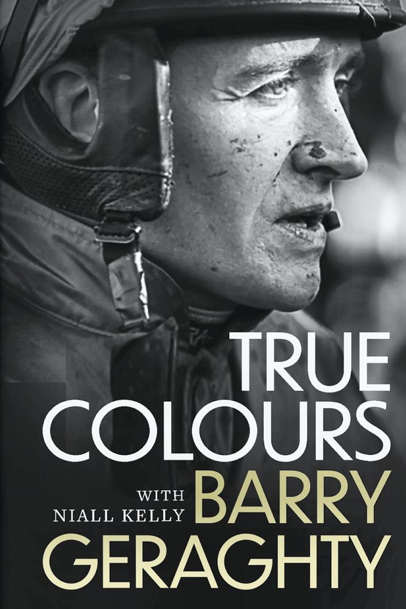 BOOK: Barry Geraghty throws the book at the doubters