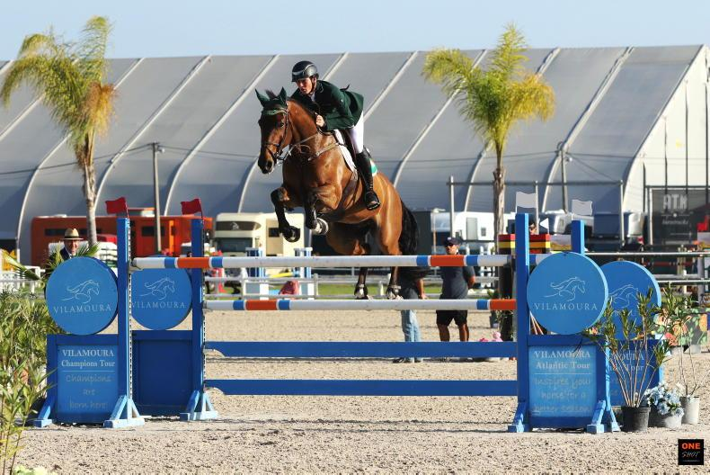 INTERNATIONAL: Ireland joint-third in Vilamoura