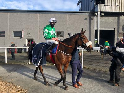 Presenting Percy back in business at Thurles