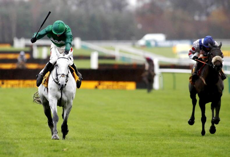 BRITAIN: All hail the silver-coated King of Haydock