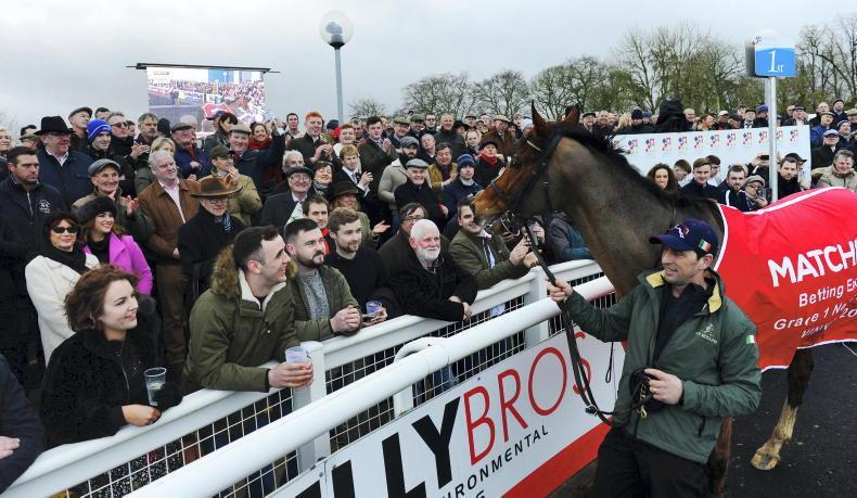 NEWS: Top novices entered for 'Faugheen' at Limerick