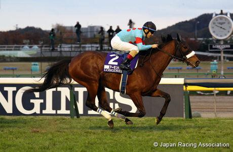 Almond Eye bows out with second Japan Cup win