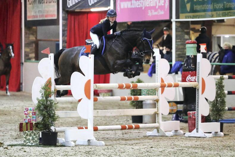 SHOW JUMPING: Talented young riders make their mark