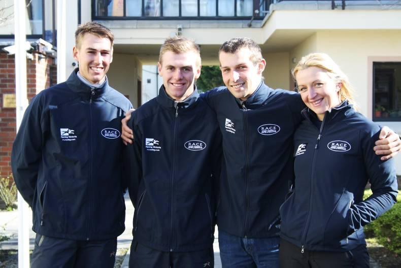 RACE ACADEMY:  Australian jump jockeys here to learn