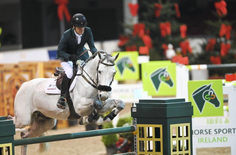 Shane Breen and Irish-bred Compelling Z win €20,000 HSI Showjumping Masters