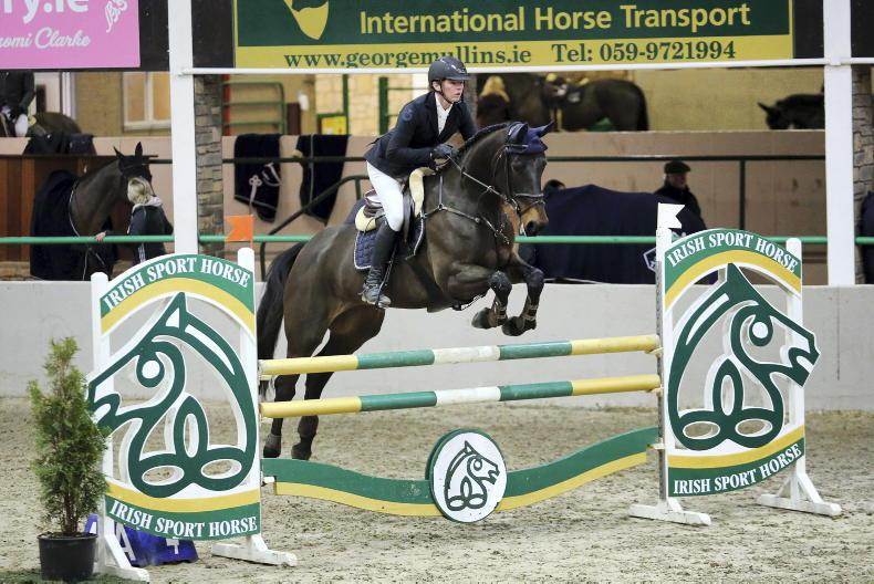 SHOW JUMPING: Ita lives up to her name
