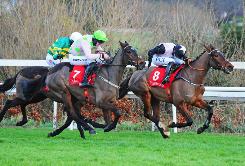 Sharjah and Mullins land famous hat-trick in Matheson Hurdle