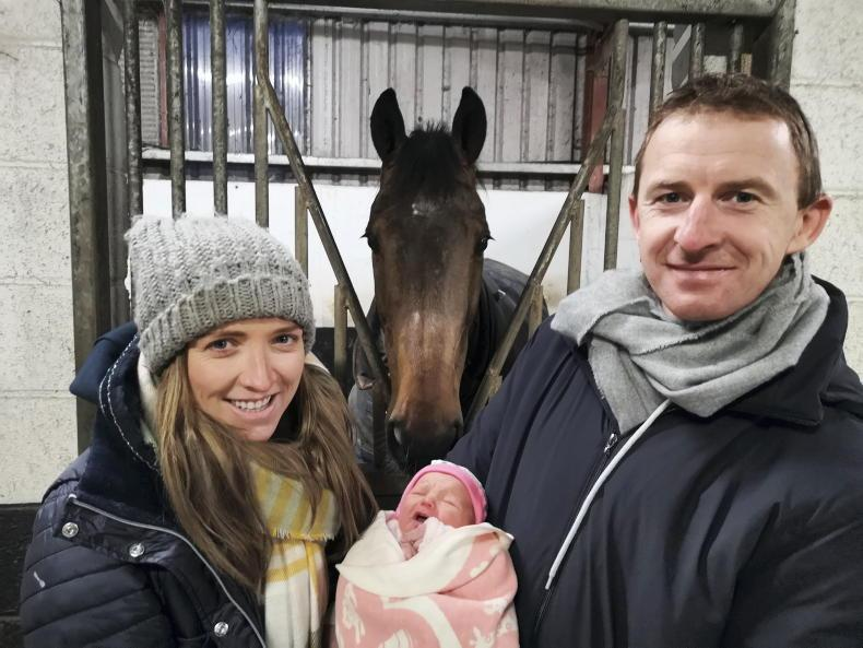 PONY TALES:  Baby joy for Paddy and Maria