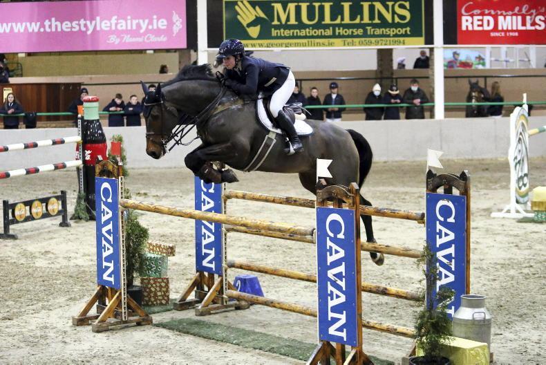 SHOW JUMPING: Derwin digs Deep and McEntee lands title