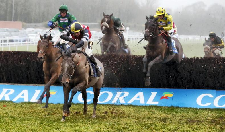 Covers giving Chepstow encouragement for Welsh National card