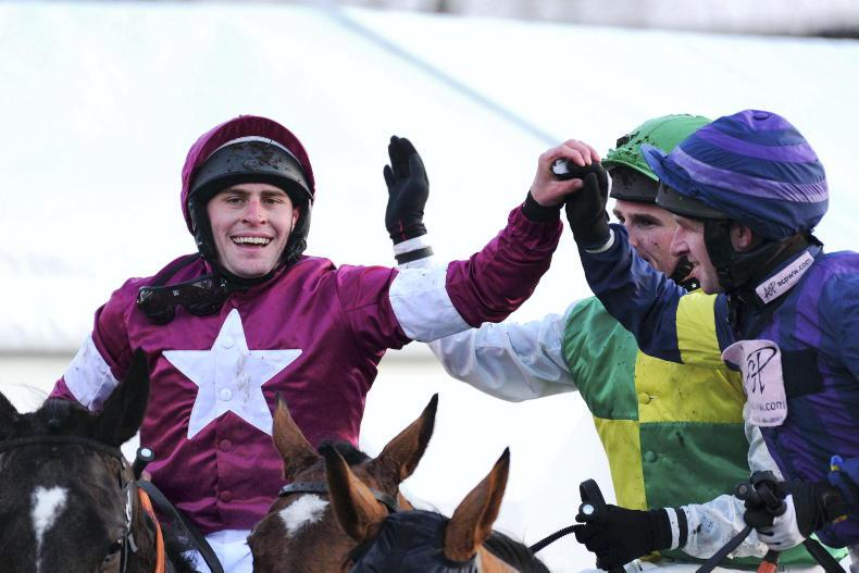 CHELTENHAM 2021: At the final fence - it's Stay At Home in the lead...