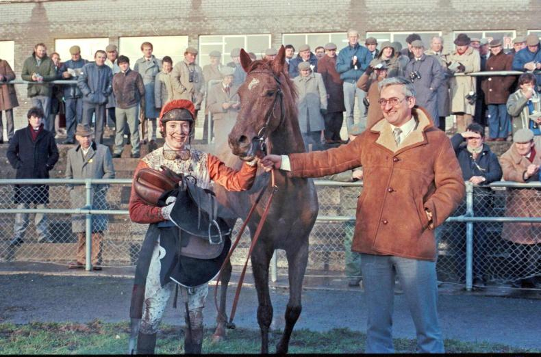 LOOKING BACK: Protesting jockeys delay racing