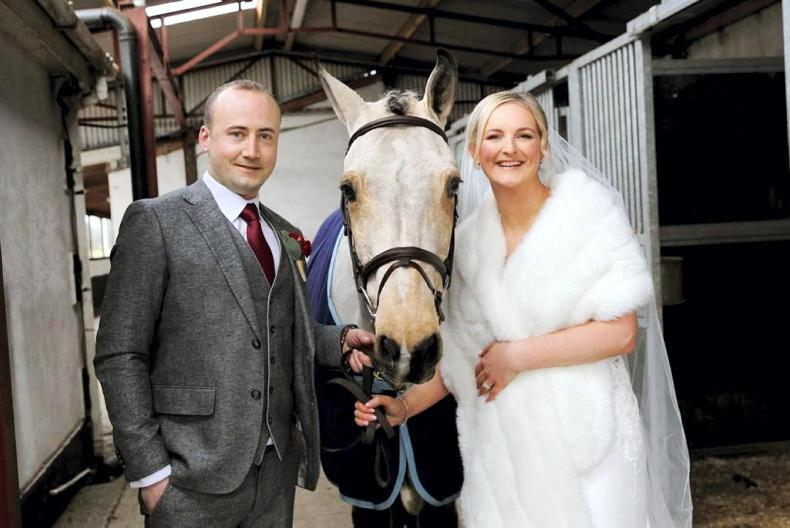 PONY TALES: Wedding joy for Lesley Anne and Keith