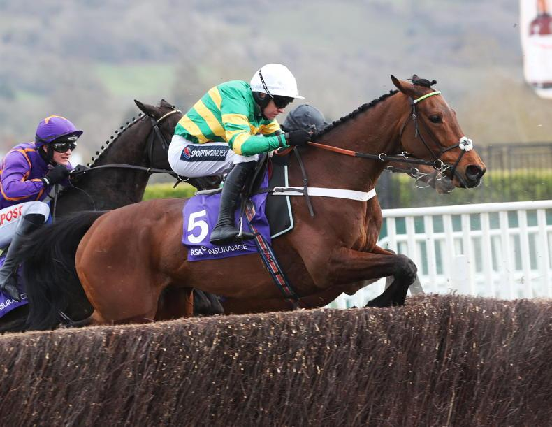 Champ on course for Denman Chase return
