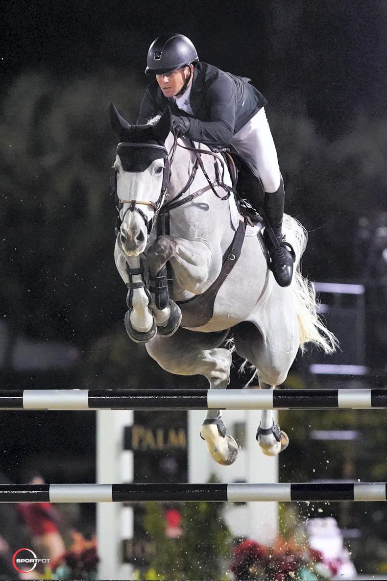 SHOW JUMPING: Five-star win for Sweetnam