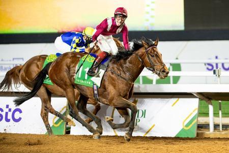 Mishriff upsets Charlatan to land Saudi Cup glory for Gosden and Egan