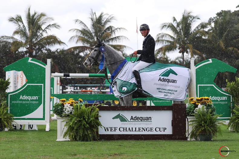 SHOW JUMPING: Vegas spins another win for Allen