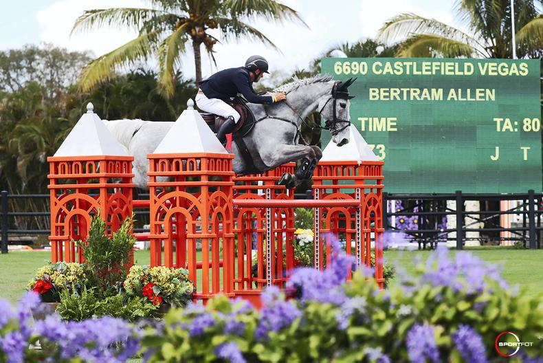 SHOW JUMPING: Allen and Vegas win $137,000 Grand Prix at WEF