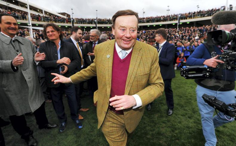 TALKING TRAINER: Nicky Henderson