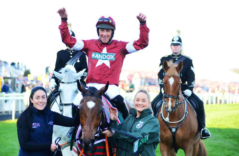 Tiger Roll withdrawn from Grand National