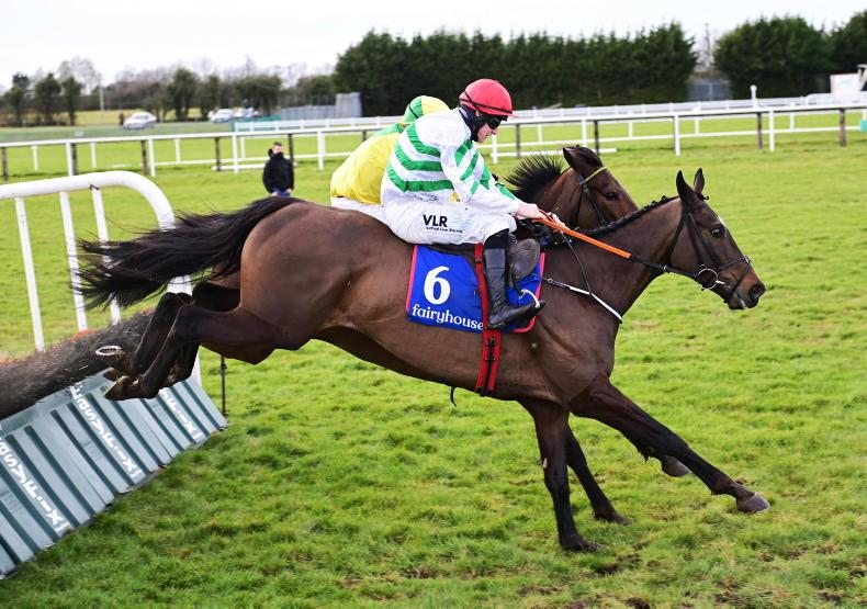 FAIRYHOUSE MONDAY: Folcano digs in well