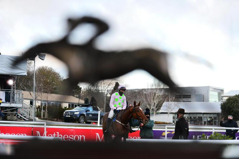 Mullins' Leopardstown treble signals fine form for Festival
