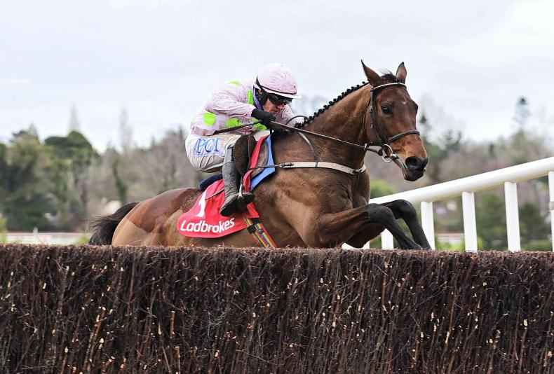 SIMON ROWLANDS: Chacun Pour Soi highest rated in training