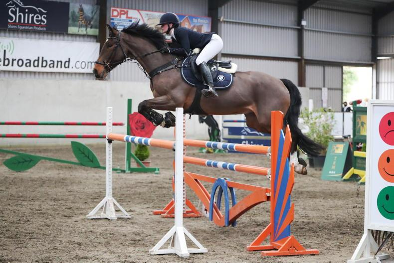 SHOW JUMPING: The Hurricane proves a winning force for Boland