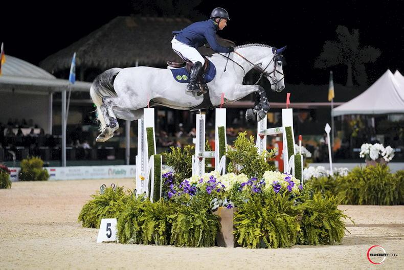 SHOW JUMPING: O'Connor third in WEF five-star Grand Prix