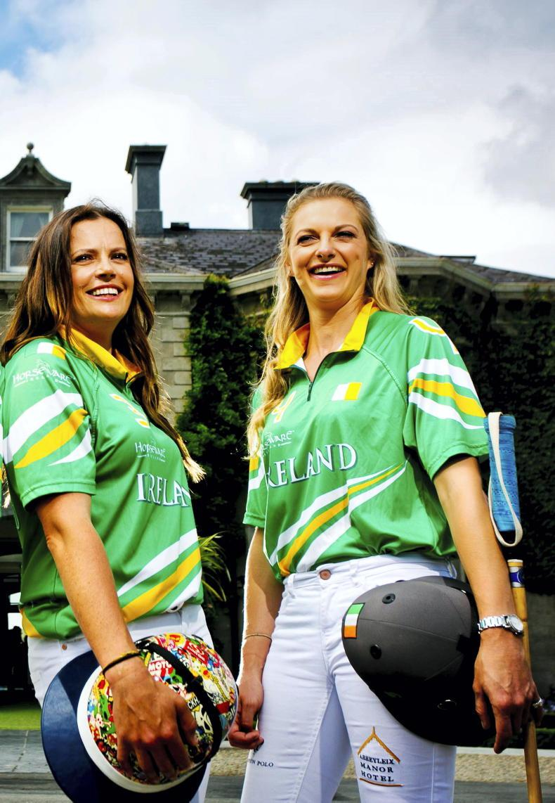 PONY TALES: Watch out Argentina - here comes Siobhan and April!
