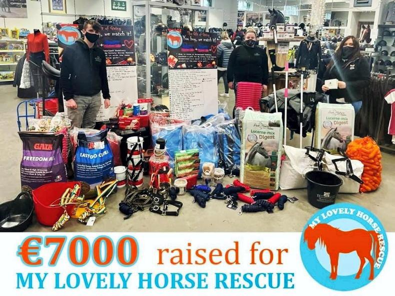 PONY TALES: MLHR to benefit from €7,000 worth of goods