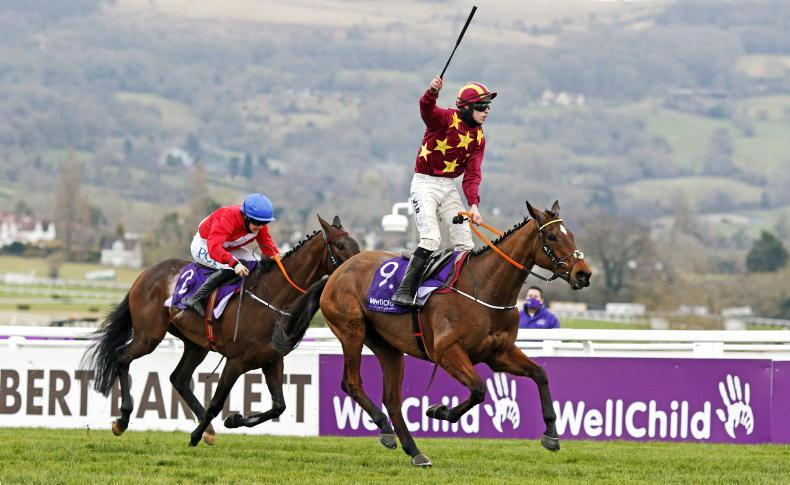 CHELTENHAM FRIDAY: History for Henry as Minella Indo scoops the Gold