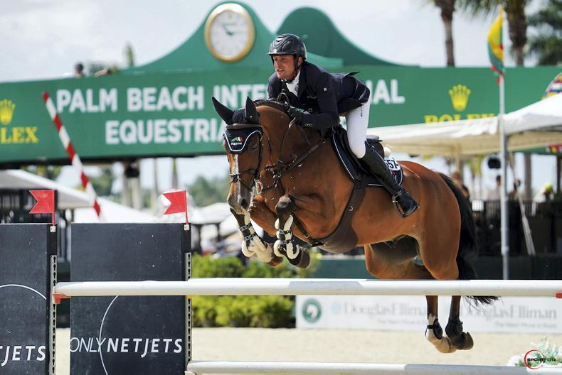 SHOW JUMPING: Kenny wins $37,000 1.50m Classic CSI3* in Florida