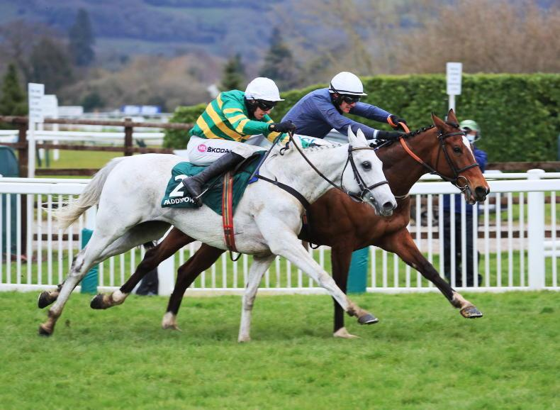 CHELTENHAM FRIDAY: Game Colreevy sees off Elimay to win first Mares' Chase