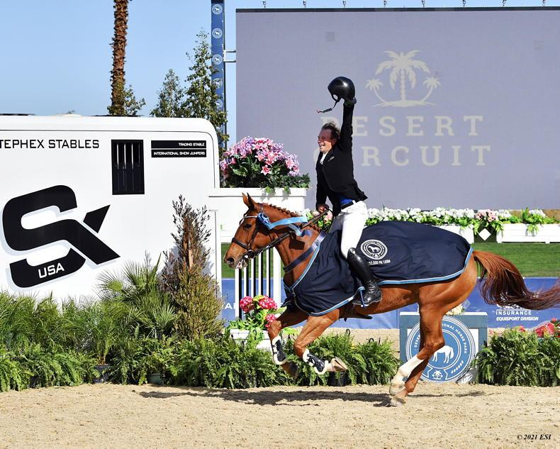 SHOW JUMPING: Irish clean sweep as Galligan and Kenny claim major victories