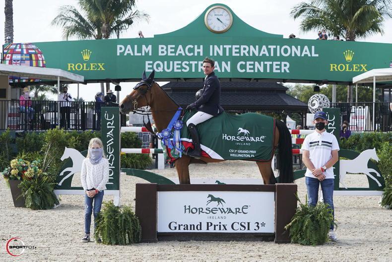 INTERNATIONAL: WEF Grand Prix win for Kenny