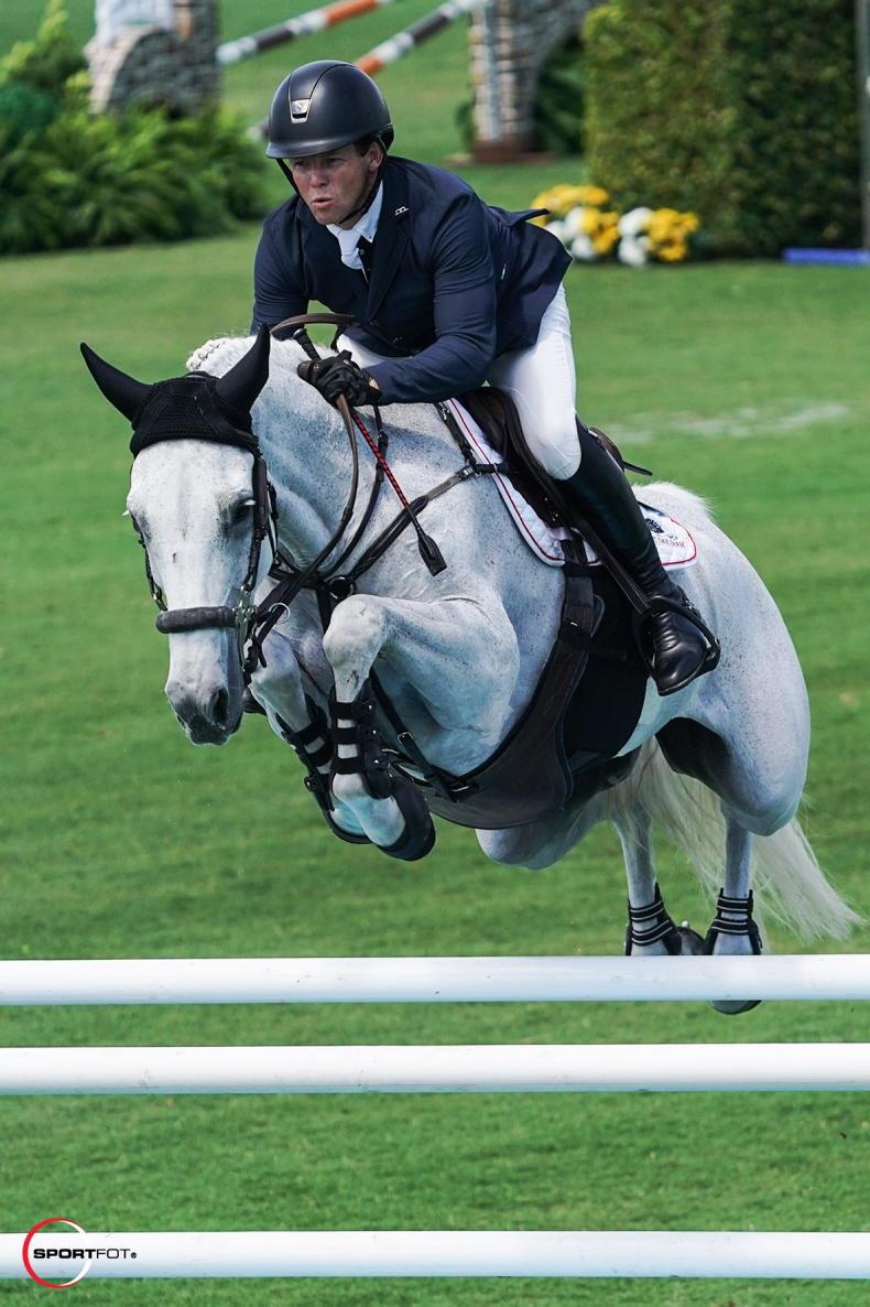 SHOW JUMPING: Sweetnam wins $37,000 Classic at WEF