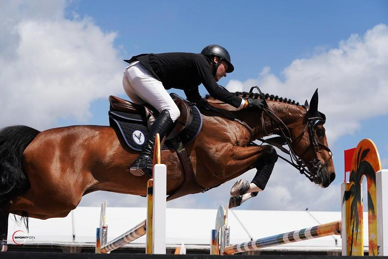 SHOW JUMPING: USA wins for Moore and Kenny