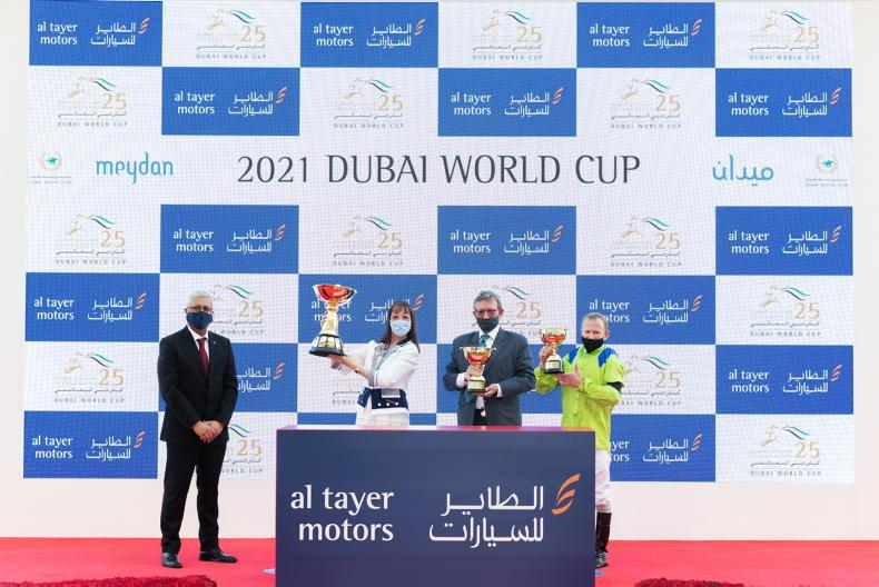 DUBAI GOLD CUP (Group 2): Subjectivist takes Gold for Johnston