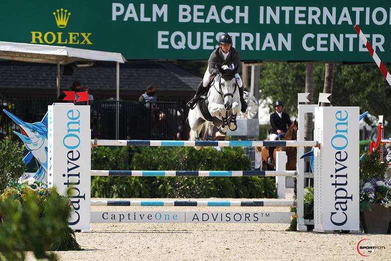 SHOW JUMPING: Sweetnam wins $73,000 Classic Final at WEF