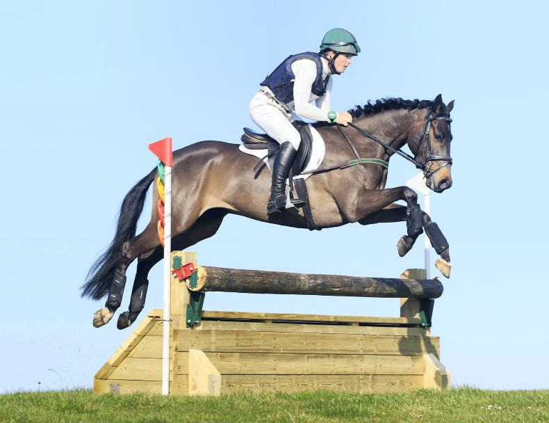 EVENTING: Western Johnny does the business for Mulligan